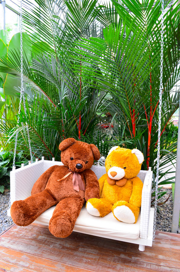 Download 2 Bear Dolls stock photo. Image of dolls, garden, nature - 25798726