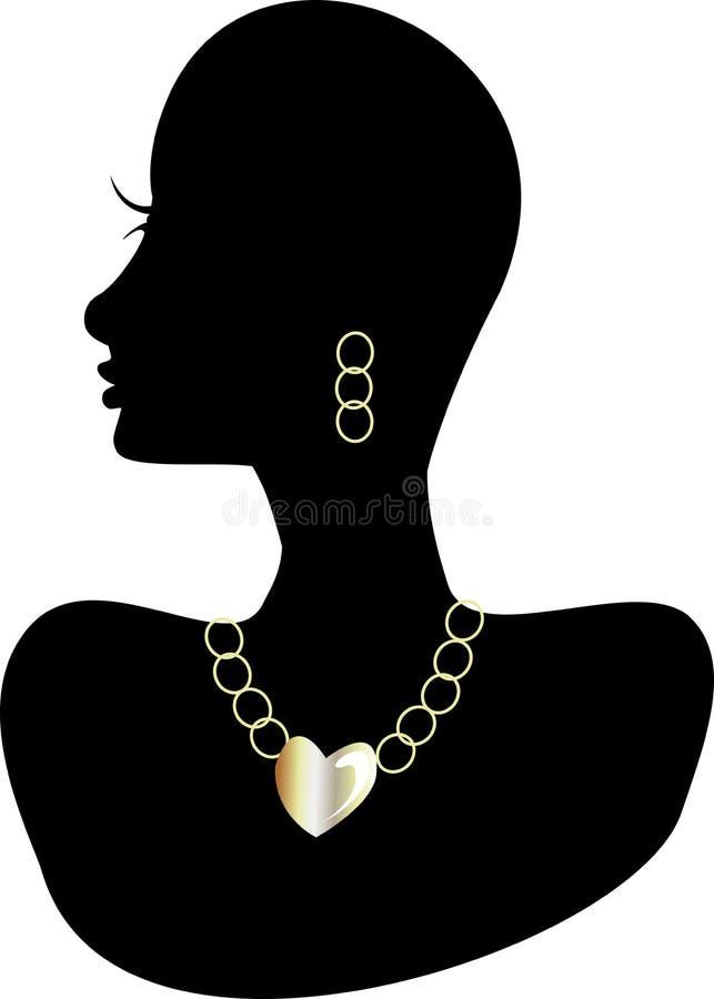 2 biżuteria ilustracja wektor