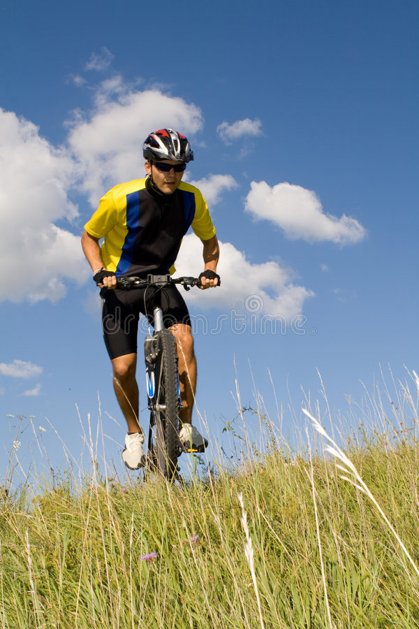 #2 Biking imagem de stock royalty free