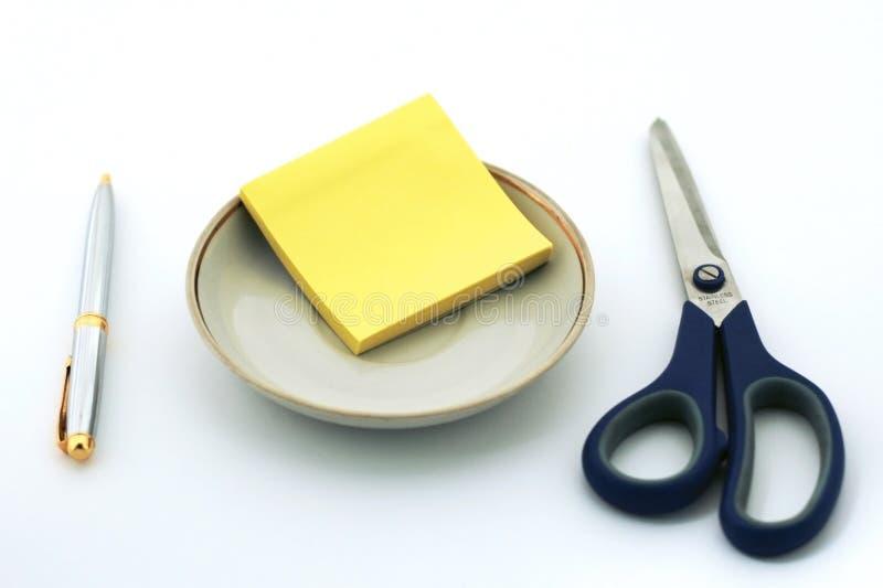 2 biznes lunch obrazy stock
