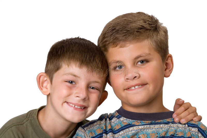 2 braterskiej miłości zdjęcie royalty free