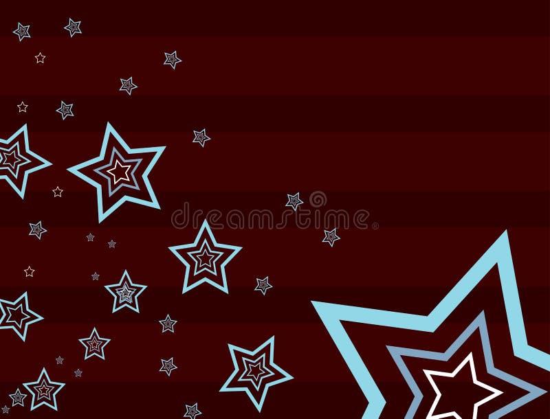 2 brown tła gwiazda royalty ilustracja