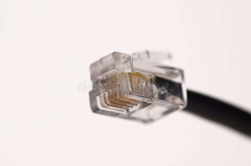 2 cable 11 rj zdjęcie royalty free