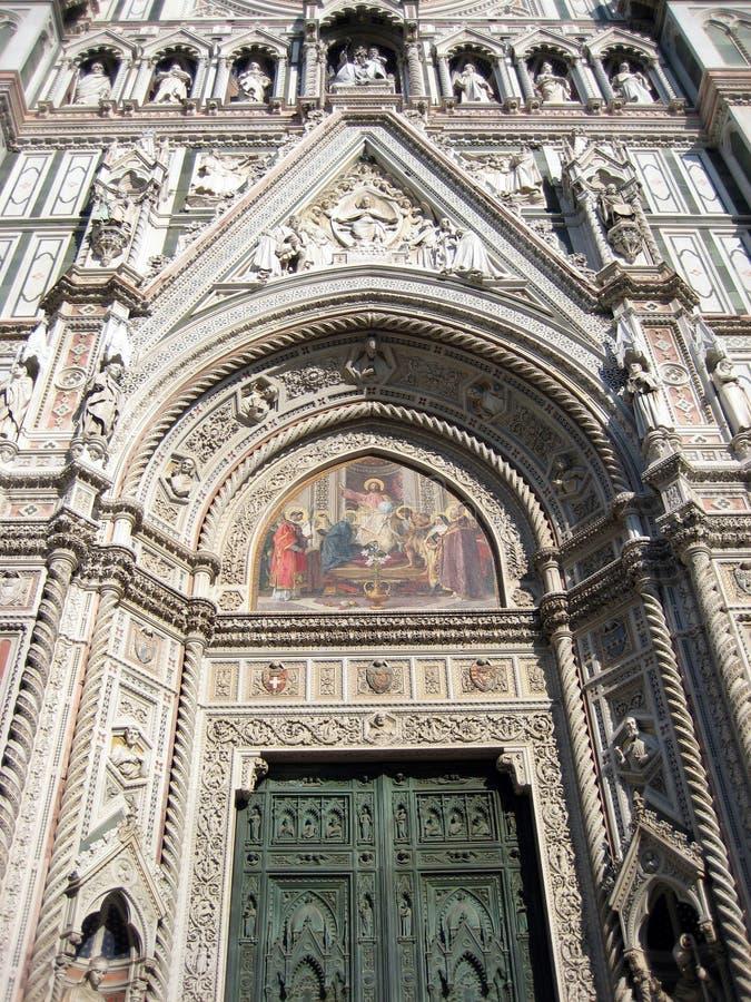 2 cattedrale firenze n photo libre de droits