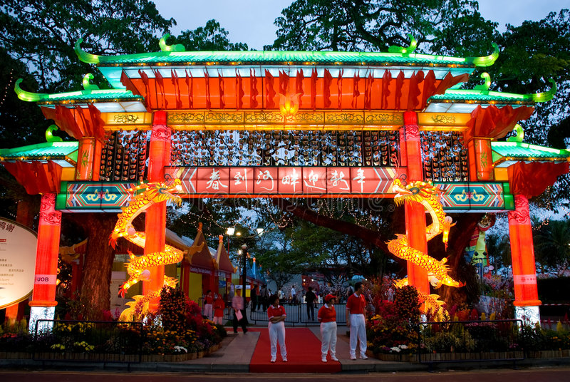 2 celebration chinese new year στοκ φωτογραφίες