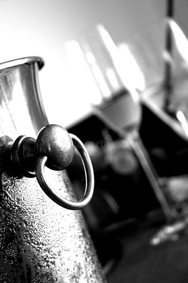 2 chiller wino fotografia stock