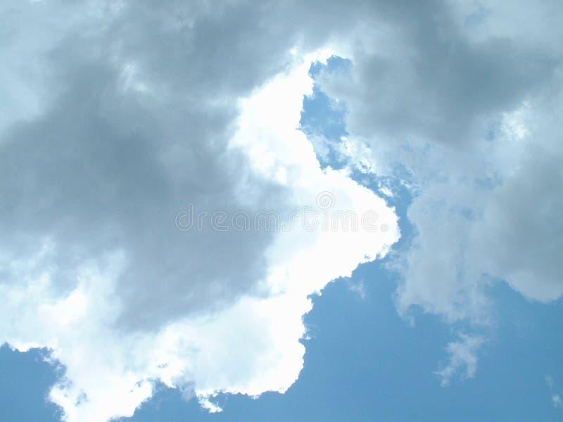 2 chmur niebo fotografia stock
