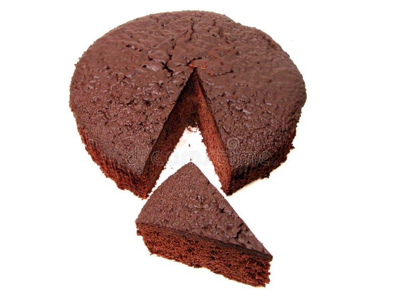 2 ciasto kawałki czekolady obrazy stock