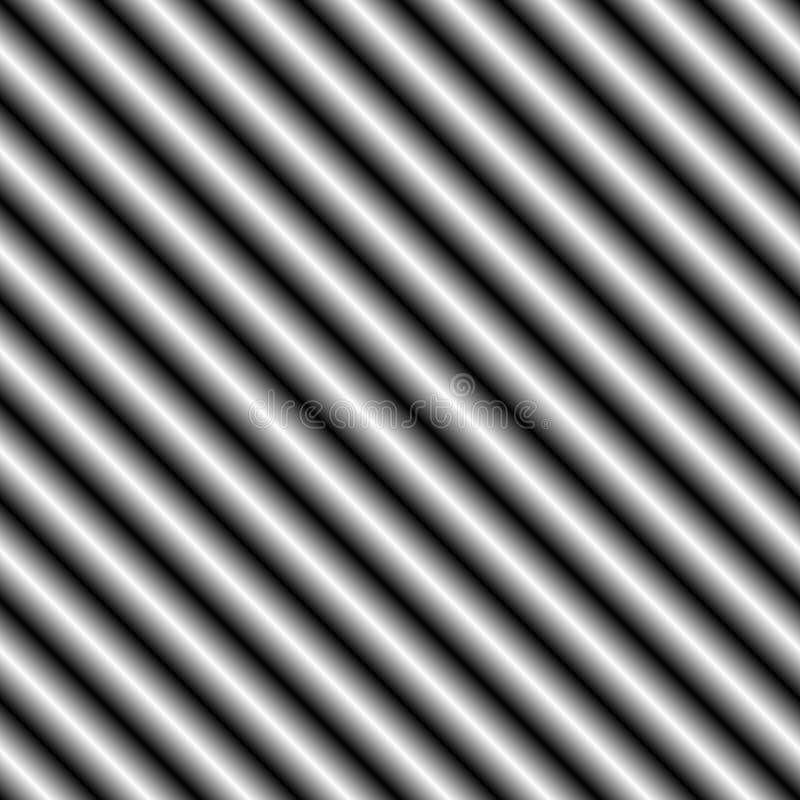 2 ciemności przekątny srebra ilustracja wektor