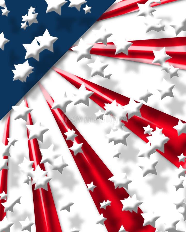 2 cyfrowa abstrakcyjna flagę ilustracja wektor