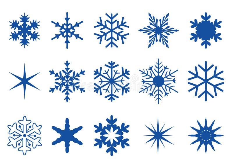 2 część płatek śniegu royalty ilustracja