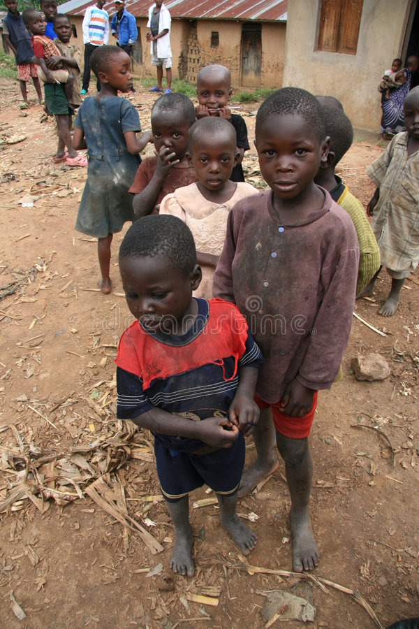 2 de noviembre de 2008. Refugiados de dr Congo imagen de archivo
