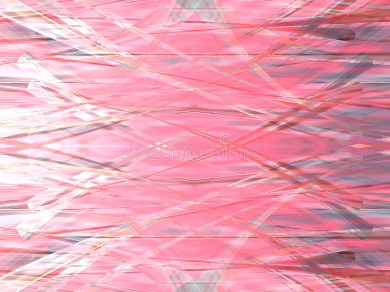 2 delicados cor-de-rosa ilustração royalty free