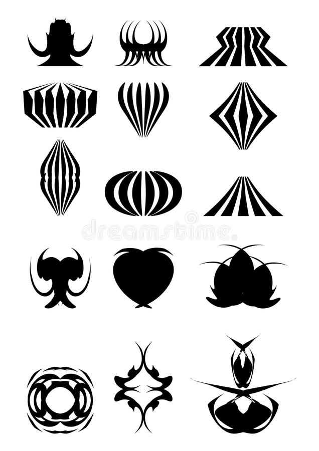 2.Examples für Zeichen stock abbildung