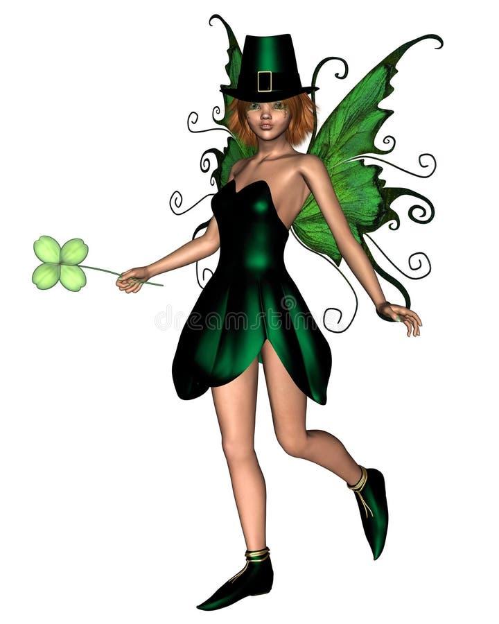 2 fairy irish иллюстрация штока