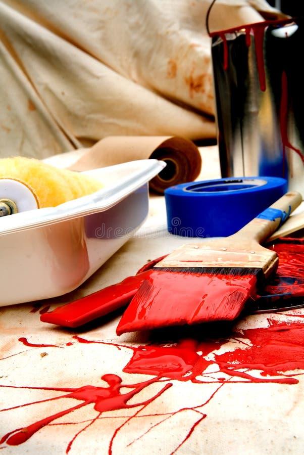 2 farbę. zdjęcia stock