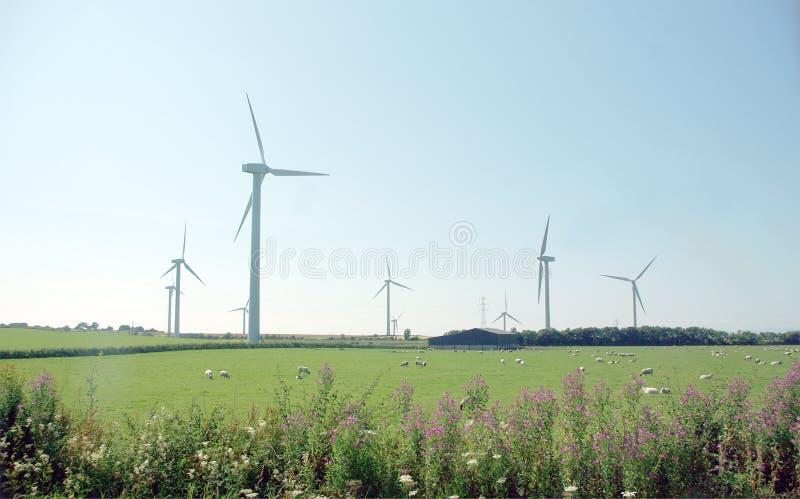 2 farm wiatr obraz stock