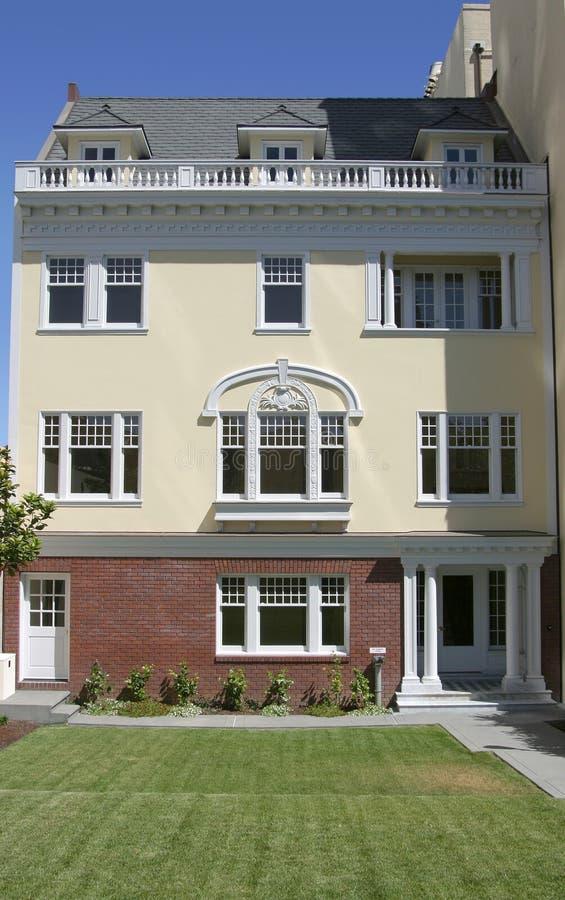 2 fasada mieszkań zdjęcie stock