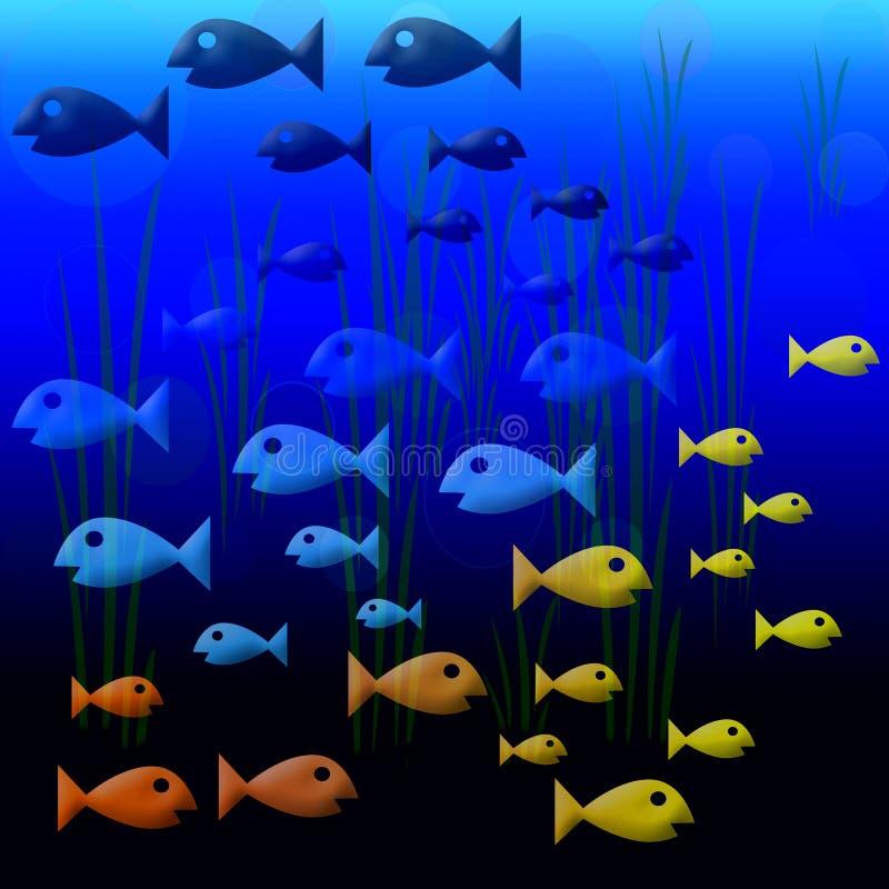 2 fishies royaltyfri fotografi