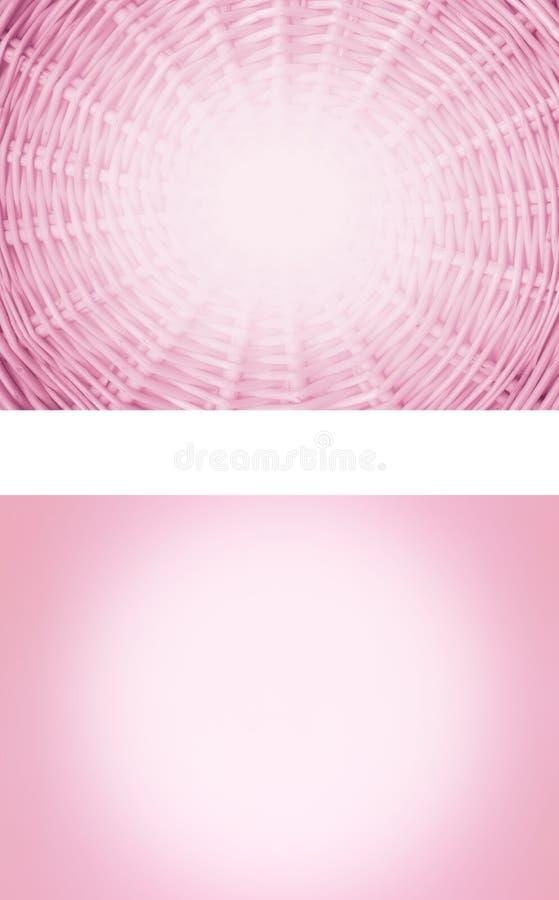 2 fondos rosados stock de ilustración