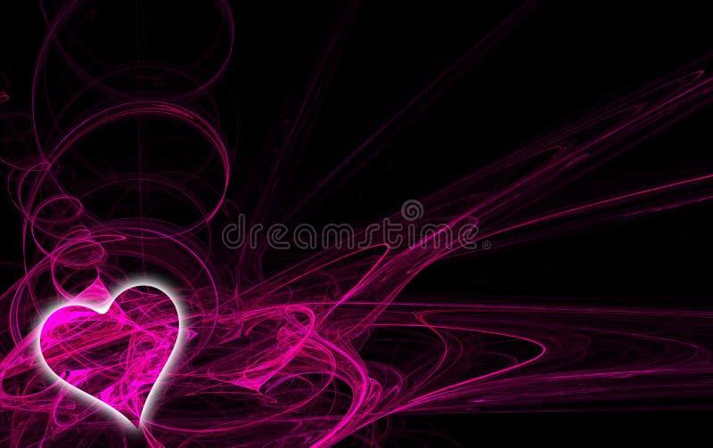2 fractal καρδιά ελεύθερη απεικόνιση δικαιώματος