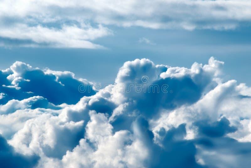 2 gór niebo zdjęcie stock