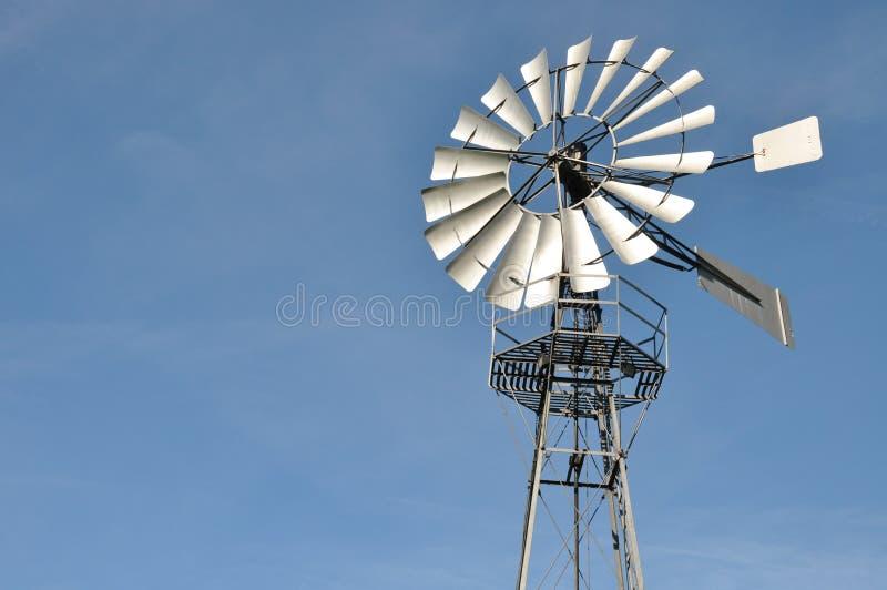2 generatorów wiatr obrazy stock