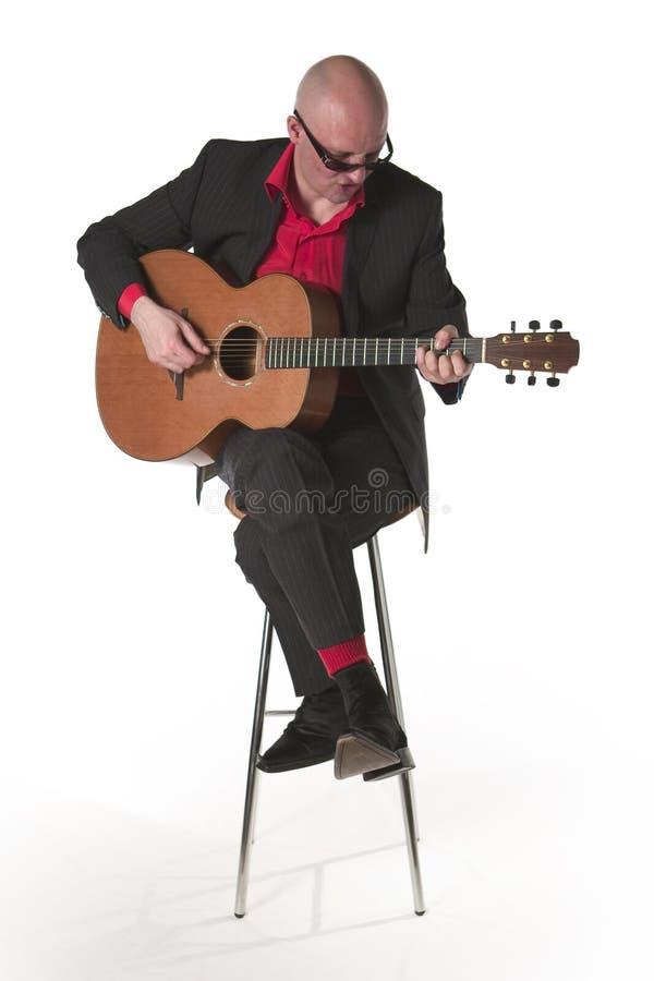 2 gitarzysta dźwiękowy zdjęcia royalty free