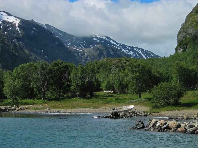2 gjende jeziora obrazy royalty free