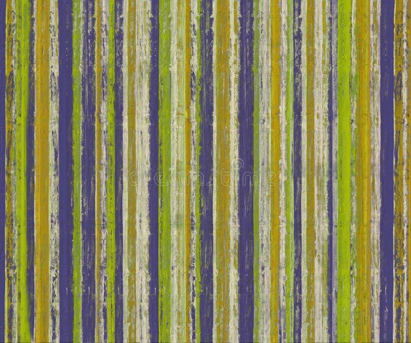 2 grungy texturerade målarfärgband stock illustrationer