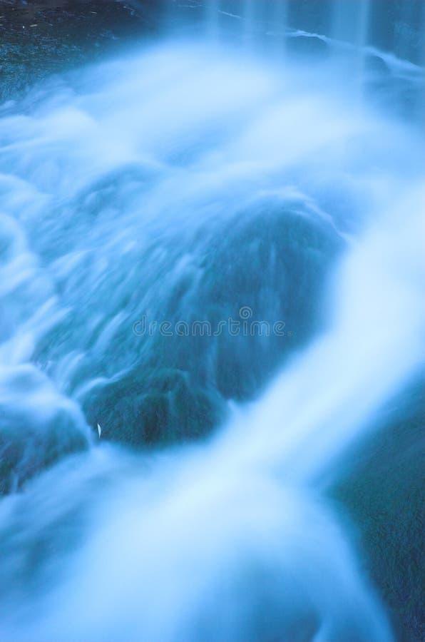 2 gwałtownych wodospadu zdjęcia royalty free