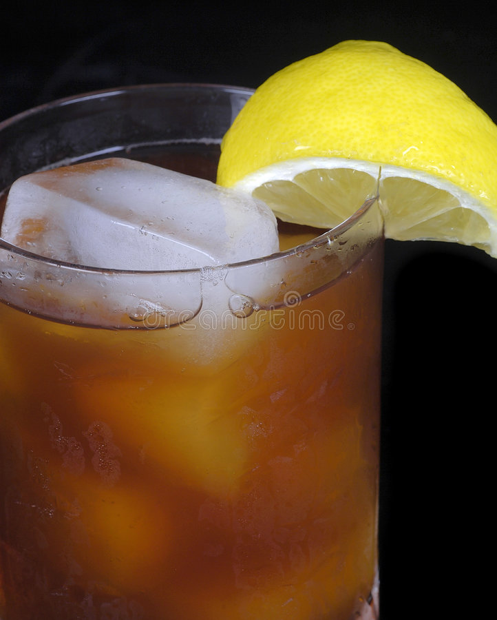 2 iced tea royaltyfri fotografi