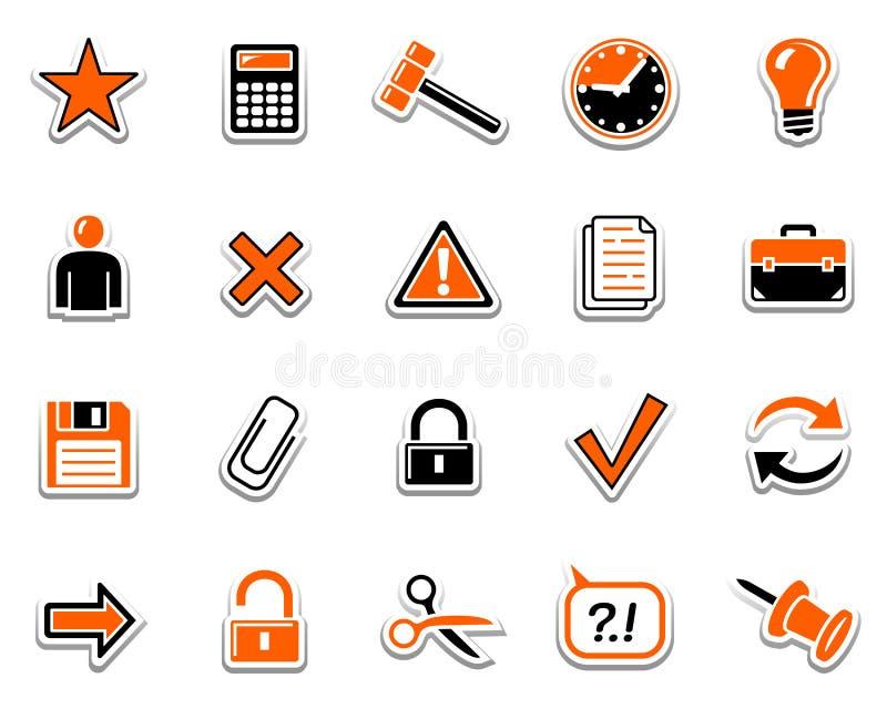 2 ikon sieć ilustracja wektor