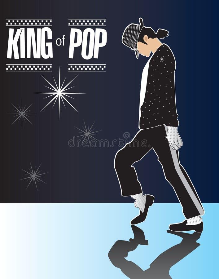 2 Jackson królewiątka pamiątkowych Michael wystrzału serii royalty ilustracja