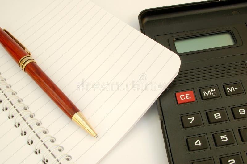 2 kalkulator zdjęcia royalty free