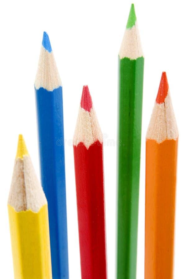 2 koloru nowego ołówka fotografia stock