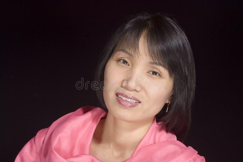 2 koreańczyków portreta kobieta obraz stock