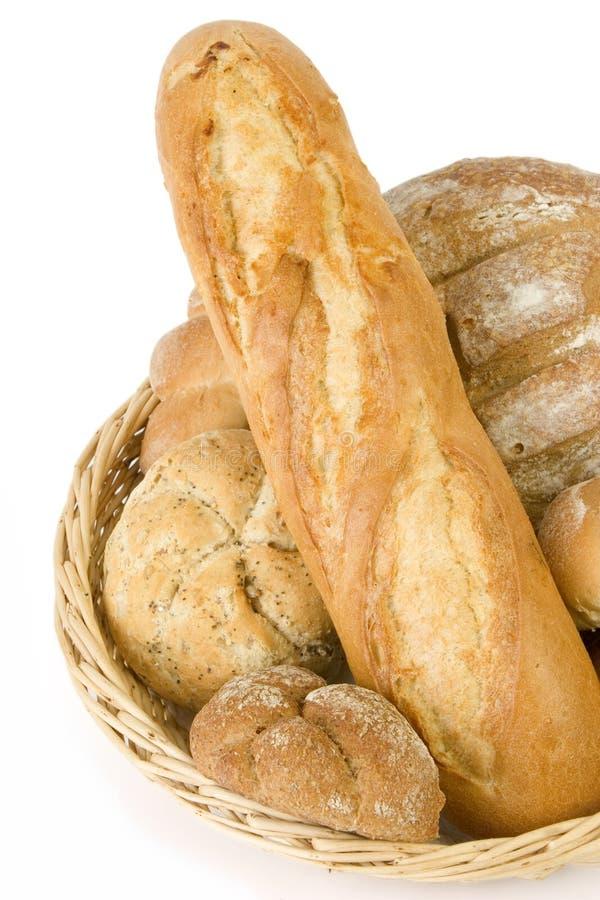 2 koszy chleb. fotografia royalty free