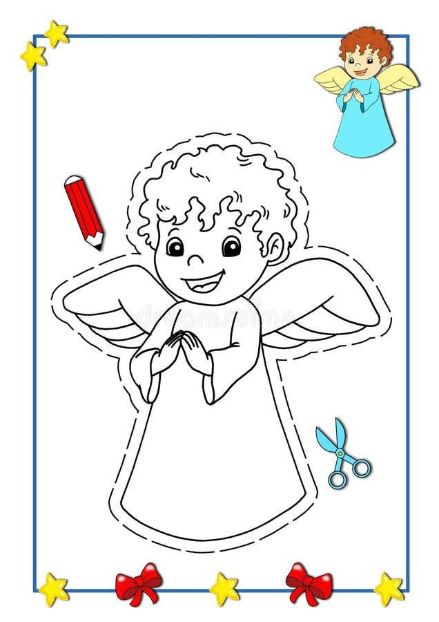 2 książkowy bożych narodzeń target1659_1_ ilustracja wektor