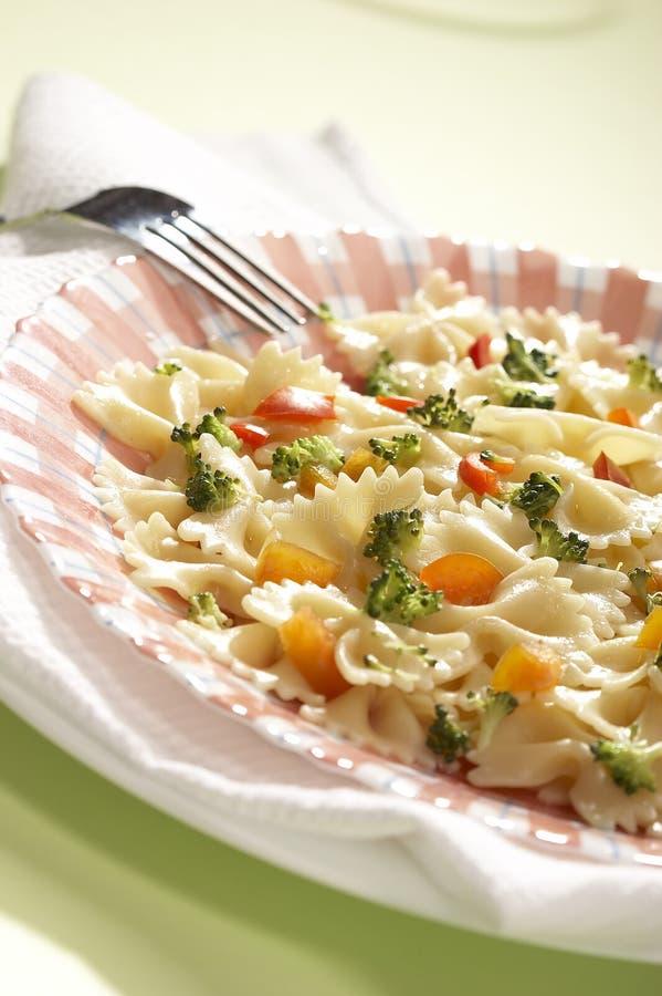 2 lagad mat pasta royaltyfri fotografi