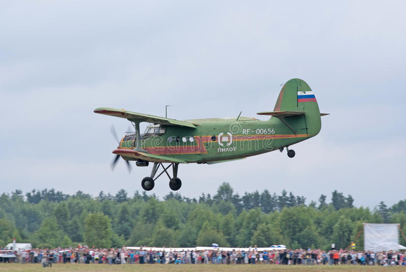 Download An-2 Lands Editorial Photo - Image: 20280406