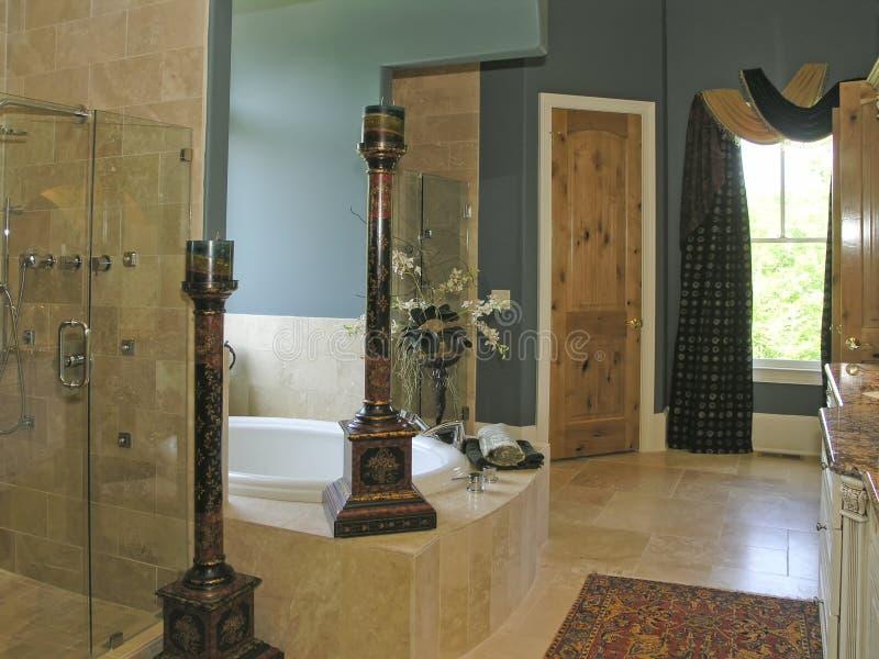 2 luksus łazienek obraz stock