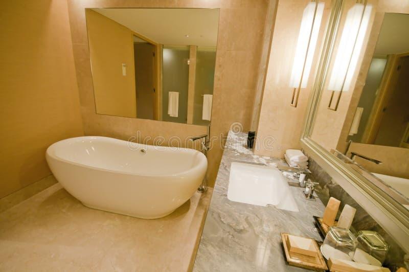 2 lyxiga serie för badrum royaltyfri fotografi