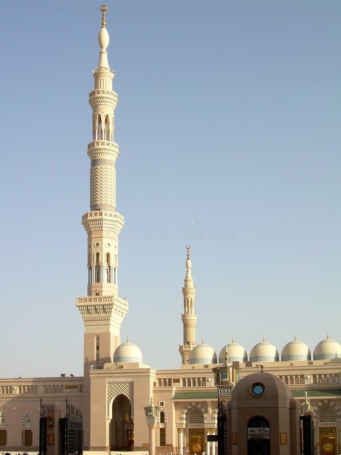2 masjid nabawi zdjęcia royalty free