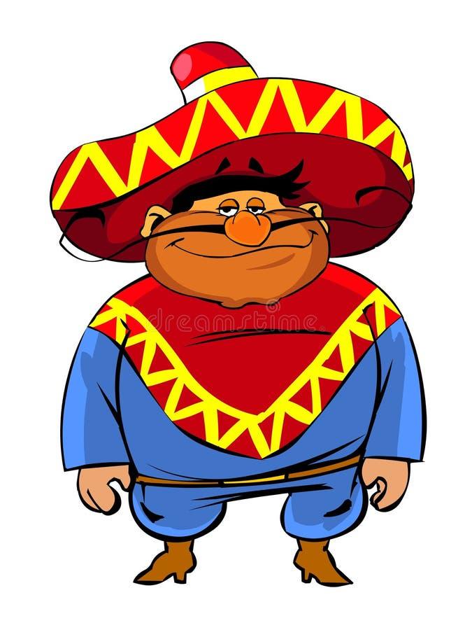2 meksykanin royalty ilustracja