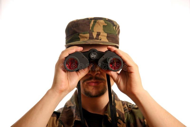 2 militarian 免版税库存图片
