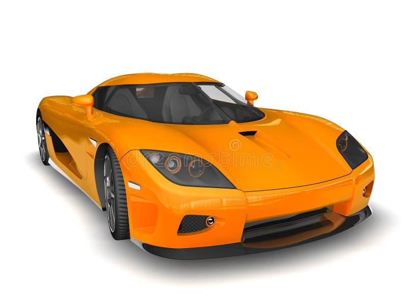 2 moderna super för bil stock illustrationer