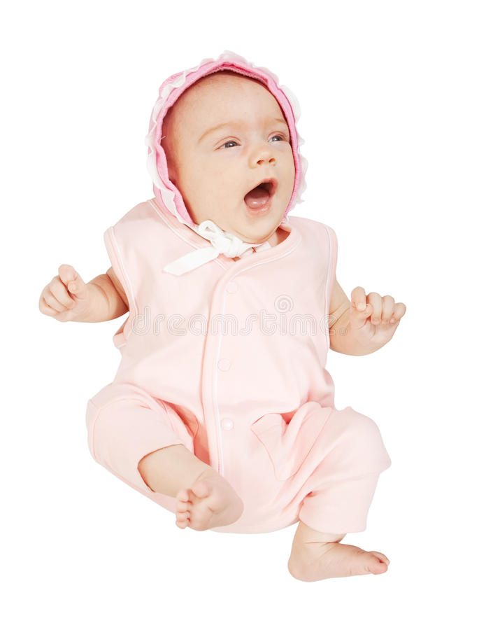 2 month baby stock image