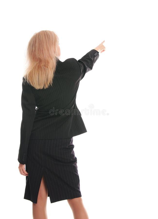 2 na boku tylnych bizneswomanu ręki przedstawienie obrazy royalty free