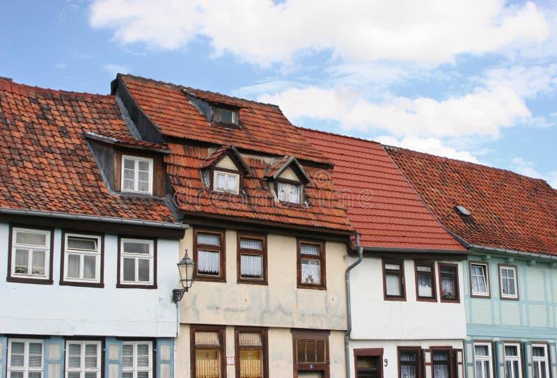 2 niemieckiego domu obrazy royalty free